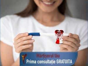 prima consultatie gratuita în martie la Gynera